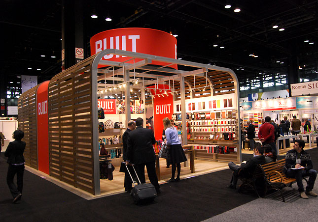 INTERNATIONAL HOME + HOUSEWARES SHOW 2011 - Built's Booth - Built
