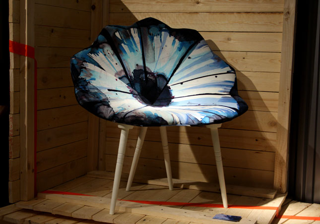 cool chairs, flower chair, spring chair, stokholm design