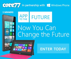 App to the Future Windows Phone Design Challenge