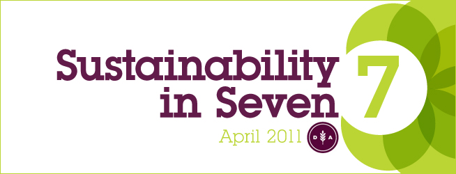 Sustainability in Seven: April 2011