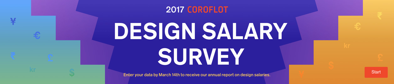 Coroflot 2017 Design Salary Survey
