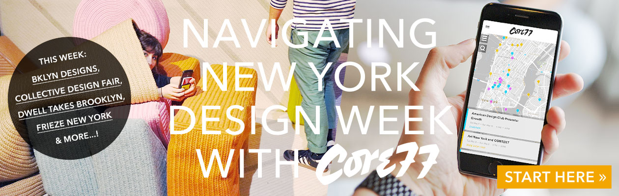 New York Design Week Map