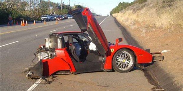 Lamborghinis Are Designed To Split In Half In Event Of A Crash We