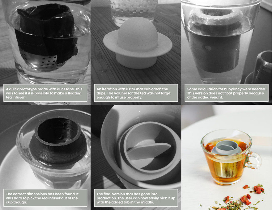 Reader Submitted: A Floating Tea Infuser that Gives Your Tea Bags a Second Life