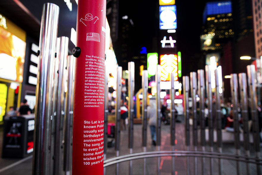 Reader Submitted: A Student-Designed Urban Instrument Takes Over Times Square During NYCxDesign