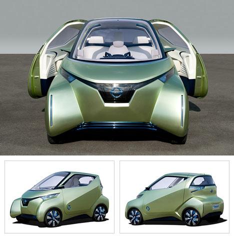 Nissan Productdesign Execs Discuss Pivo 3 Ev Concept Car Core77