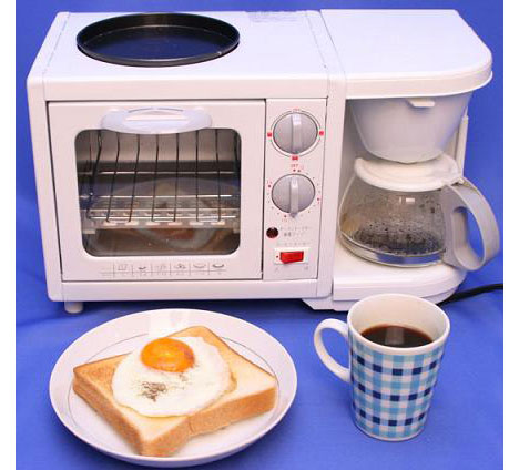 Japanese space-saving kitchen appliance - Core77