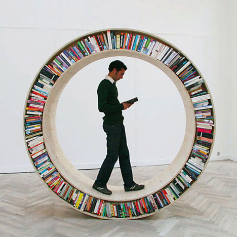 I Dont Know If You Want A Bookshelf That Can Accidentally Kill Your Sleeping Cat But This Has To Be One Of The Most Original Concepts Weve Seen