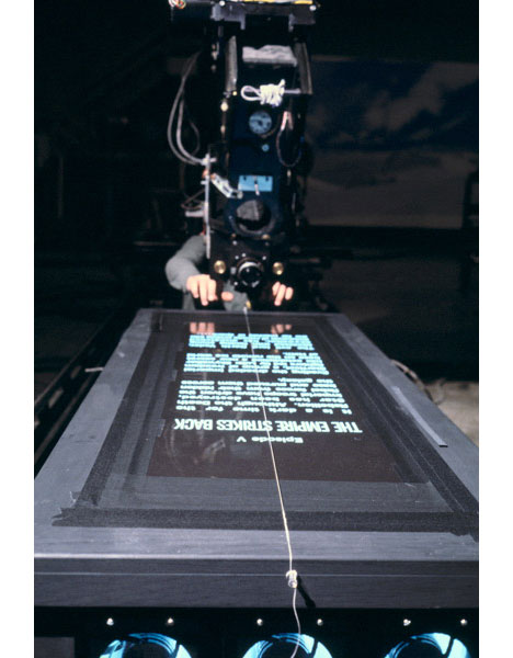 How they shot the <i>Star Wars</i> opening crawl - Core77