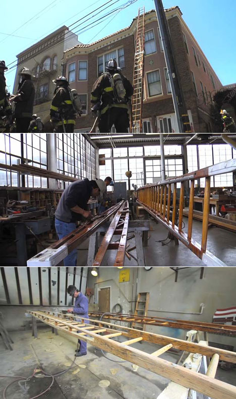 Inside The San Francisco Fire Department S Ladder Shop Core77
