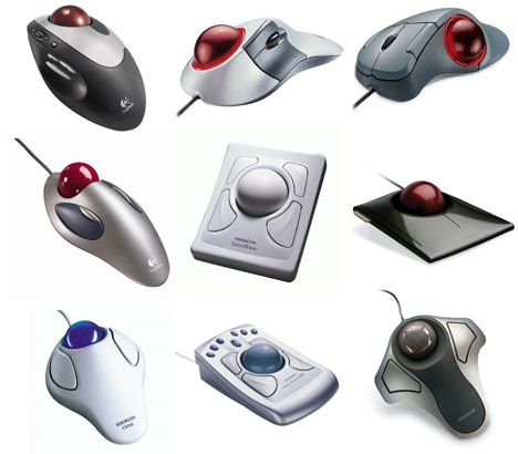 Physical interface form factors: Trackballs - Core77