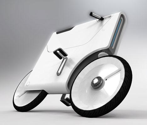 Yuji Fujimura S Sweet Bike Design Is Hip To Be Square Core77
