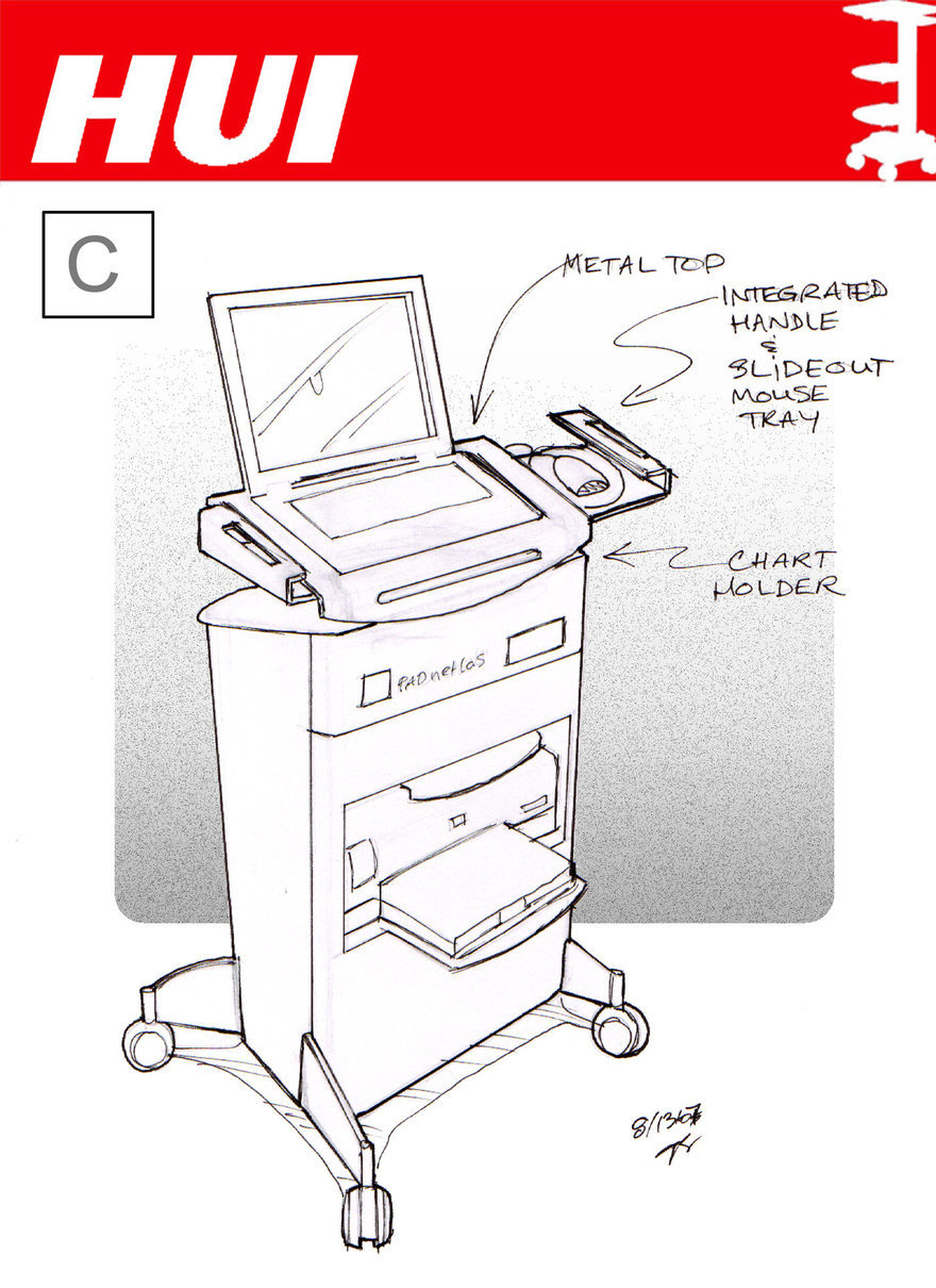 Flotspotting: Julia Behm's Medical Cart Designs