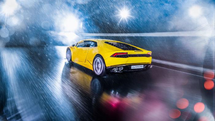 Automotive Photographer On Lockdown Creates Realistic Photo Shoot Using Toy Car Treadmill Core77