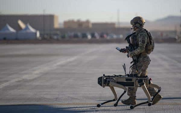 U.S. Air Force Now Testing Out Robot Dogs for Base Security