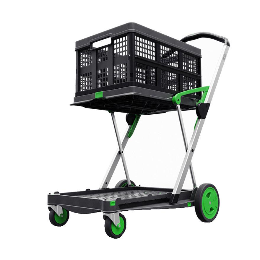 A Fold-Flat Utility Cart: The Clax Trolley