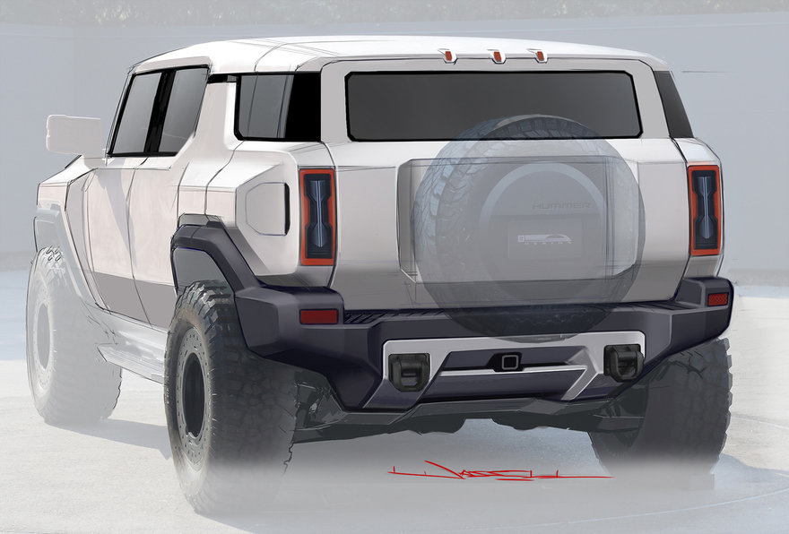 GMC Unveils Hi-Tech SUV Version of Hummer EV