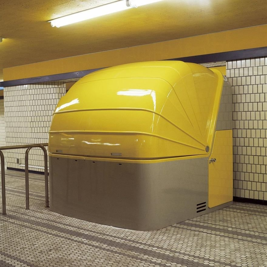 Sori Yanagi's 1972 Subway Kiosk, and the Importance of Modelmaking in Design