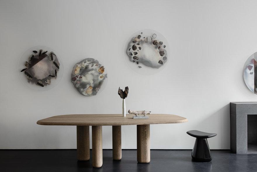 Chen & Kai Romance Stone Into Elegant Furnishings at New York s Casa Perfect