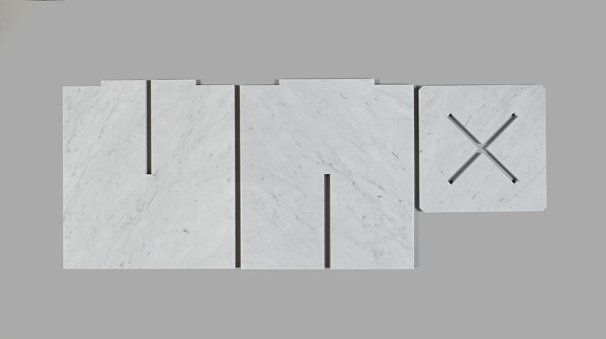 ANNEX' SNAP FIT MARBLE TABLES - by Joe Doucet / Core77