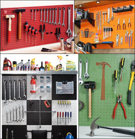Garage pegboard organization Free Standing Now We Get Into Whats Bad About Pegboard Problem 1 With Pegboard Although This Is Subjective Is That Its Ugly As Sin For Some The Fix Is To Use Core77 The Basics Of Tool Organization Systems Part 1 Pegboard Core77