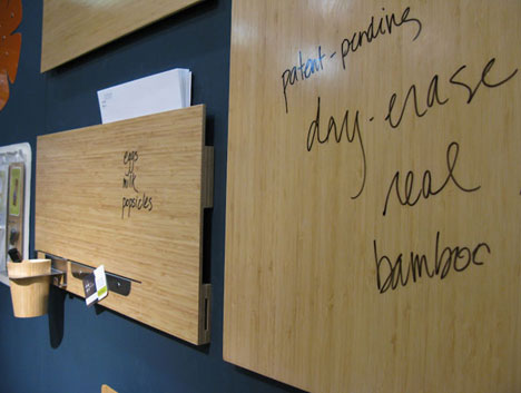 Nyigf 2010 Faves Three By Three S Dry Erase Bamboo Panels