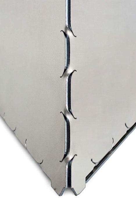 Killer New Production Method Metal Origami Core77
