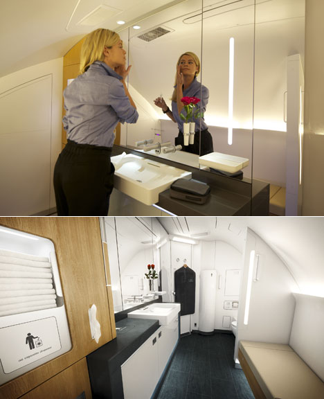 lufthansa 39 s customers 39 wishes integrated into design of first class a380 cabins core77. Black Bedroom Furniture Sets. Home Design Ideas