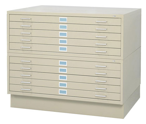 Cool storage designs part 1 easifile for large docs blueprints many architecture and id offices will still have flat file cabinets the unwieldy steel boxes you see above designed to hold large sized draftings malvernweather Gallery