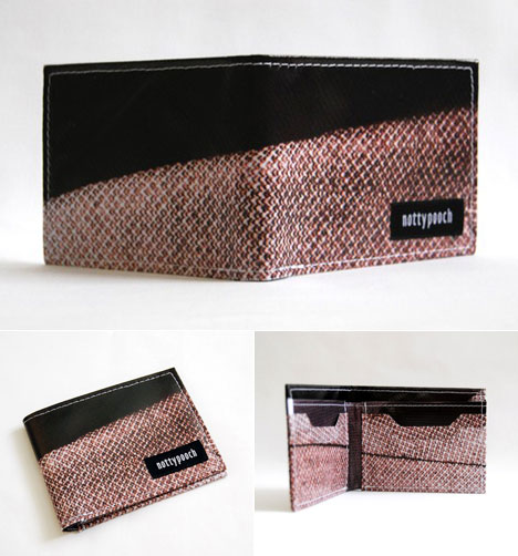 Products From Waste Nottypooch S Recycled Billboard Banner Wallets Amp More Core77