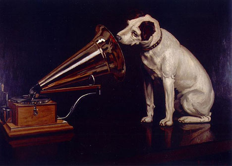 Hmv Logo Origin Story A Painter A Dog A Dead Guy And A Record