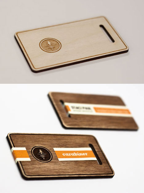 Wooden business cards green in one sense not green in another making business cards out of wood isnt new and you can see a massive roundup of them here but we like wisconsin design student staci pauls reheart Images