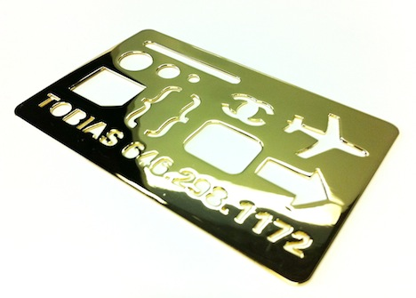Brokenoff brokenoff marc thorpe call me or copy me core77 original tobias wong business card circa 2001 plated in 18 carat gold colourmoves