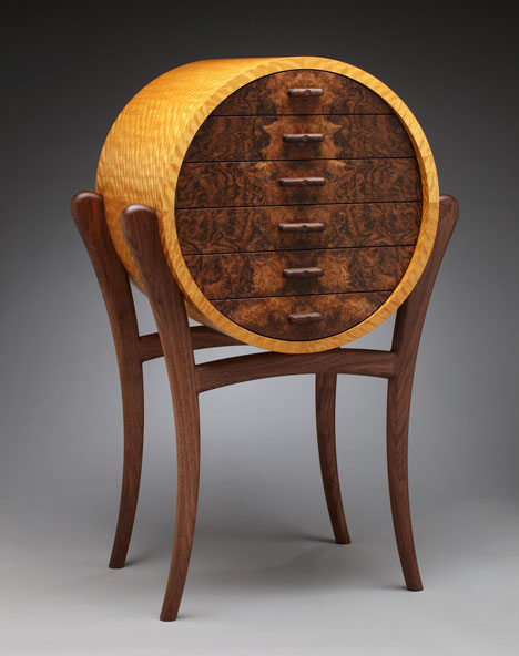 Merveilleux His One Off Pieces Reflect The Combination Of Wood Fetishism And  Craftsmanship That Only Someone Deeply Engaged With The Material ...
