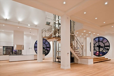This Almost Offensively Splendid 7 000 Square Foot Is Located Right Inside The Building S Clock Tower Provides 360 Degree Views And Gives You