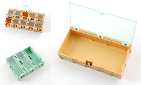 Useful Many-Sized Modular and Affordable Small Parts Storage  sc 1 st  Core77 & Useful Many-Sized Modular and Affordable Small Parts Storage - Core77