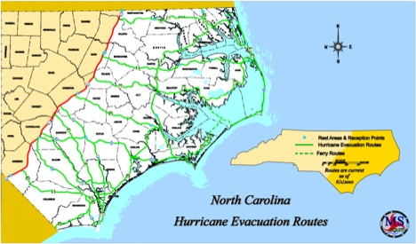 PSA: Hurricane Evacuation Maps - Core77