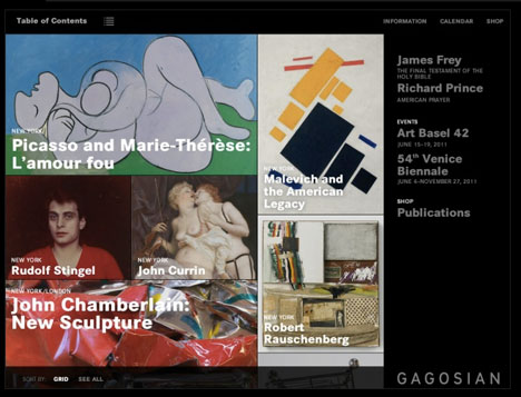 A Virtual View The Gagosian App And Art In A Digital Age