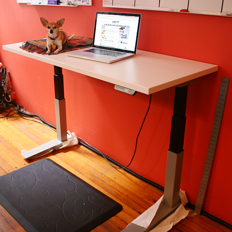 Standing Desk Shootout Haworth Planes Height Adjustable