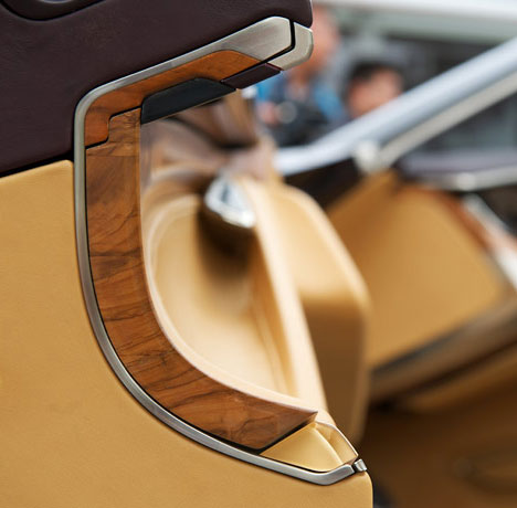 Cadillac Concept Gets Solid Wood Integrated Into Interior