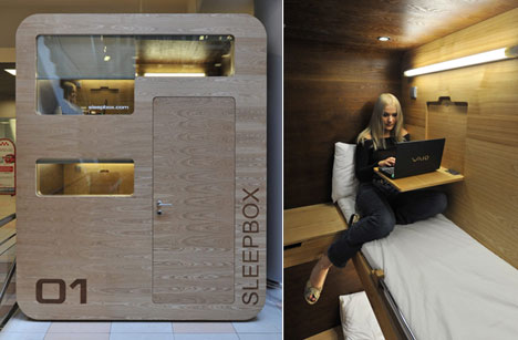Pared Down Quot Hostel Edition Quot Sleepboxes Installed In Moscow