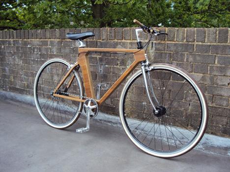 Flatspotting - Wooden Bicycle Frames: \