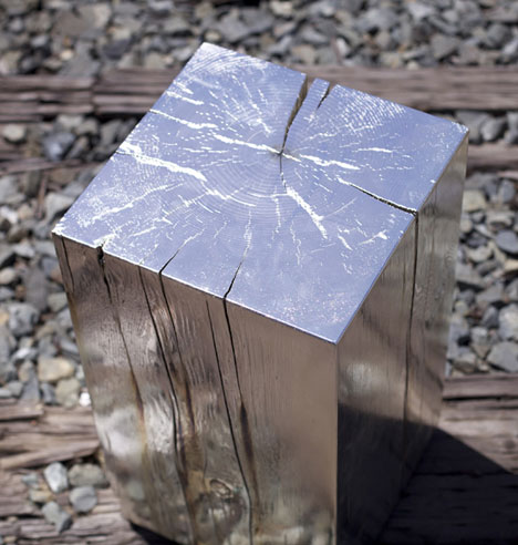 We dig this silvered doug one cos periodic tables core77 in these chunks of douglas fir contrasted with the sleek shine of the silver is a perfect harnessing of two distinct materials urtaz Choice Image