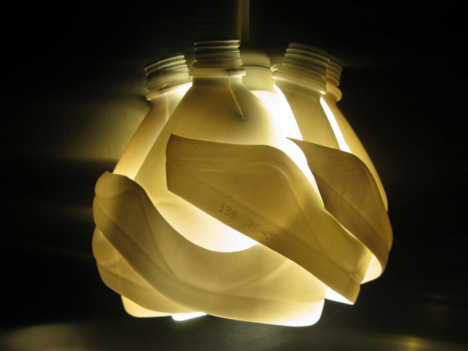 One Mans Trash Is Another Mans Lamp Matteo De Colles Upcycled
