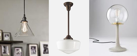 Schoolhouse Electric Supply Co S Literally Old School Fixtures And Pendant Light