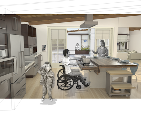 kitchen design for disabled architecture for recovery ideo and michael design 807