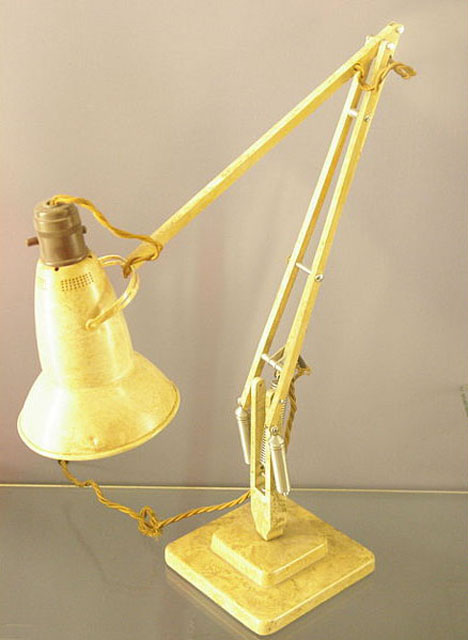 The Story Of The Modern Desk Lamp Part 1 Its Invention Was Based