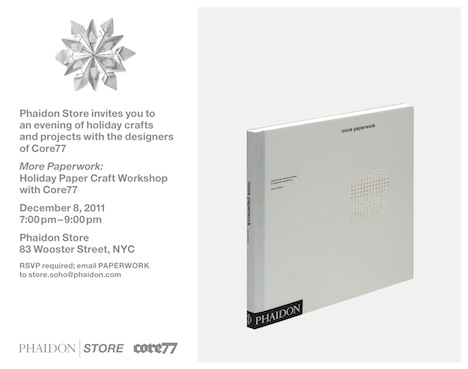 Happy Holidays with Core77 and Phaidon Store NYC - Core77