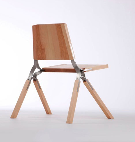 All The Necessary Joints Of A Chair Are Distilled Into One Component. The  Stainless Steel Component Allows The Chair To Stack And Provides A Measure  Of ...