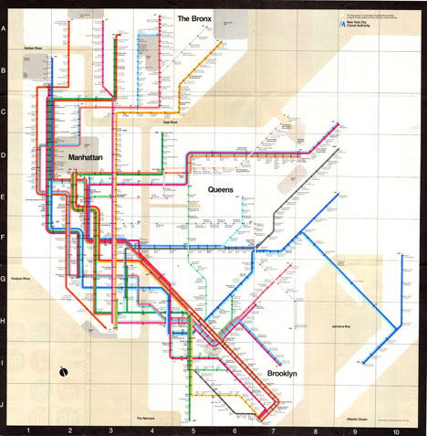 Vignelli Subway Map Pdf.Embark Navigating Nyc Subways Via Good Design Core77